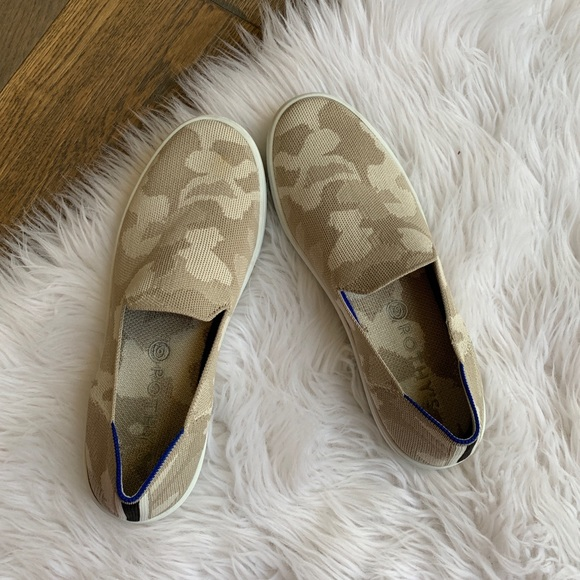 Shoes | Rothys Camo Sand Sneaker